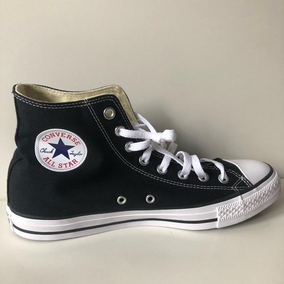 Converse Chuck taylor all star high top black new